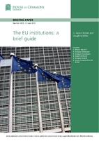 The EU institutions : a brief guide by Grace…