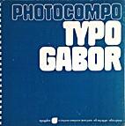Photocompo by Typogabor