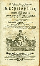 Oeconomisch-technologische Encyklopädie...,…