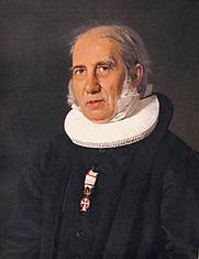 Author photo. Portrait by C. A. Jensen, in Den Hirschsprungske Samling, Copenhagen