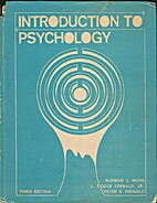 Introduction To Psychology by Norman L. Munn
