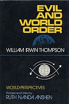 Evil and World Order by William Irwin…