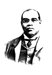 Author photo. J. N. Gupta's Life and Works of Romesh Chunder Dutt, published in New York and London in 1911.
