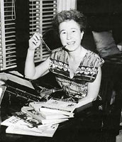 Author photo. Catherine Woolley (aka Jane Thayer), Purple House Press author