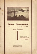 Pages Cinaciennes : Ciney et son histoire by…