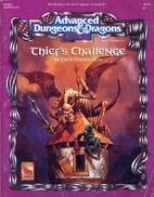 Thief's Challenge (Advanced Dungeons &…
