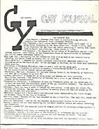 Gay Youth's Gay Journal (Issue Number One)…
