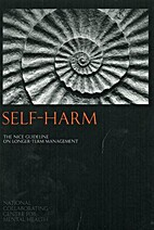 Self-harm : longer-term management by…