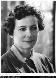 Author photo. Olive Cotton, 1911-2003. Portrait of Eleanor Dark 1945 [picture]. <br><a href=&quot;http://www.nla.gov.au&quot;>National Library of Australia</a>, nla.pic-an9070735