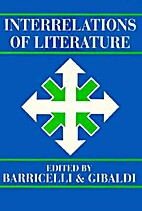 Interrelations of Literature by Jean-Pierre…