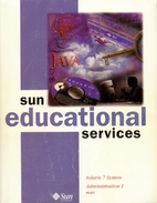 Solaris 7 System Administration I, Student…