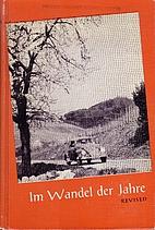 Im Wandel der Jahre; deutsches Lesebuch…