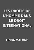 LES DROITS DE L'HOMME DANS LE DROIT…