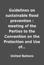 Guidelines on sustainable flood prevention :…