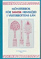 Mönsterbok för samisk…