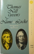 Hume and Locke by Thomas Hill Green