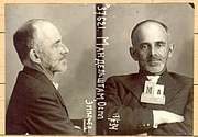 Author photo. Arrest photo, 1934.