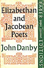 Elizabethan and Jacobean Poets: Studies in…