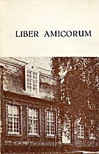 Liber amicorum Sint-Jan Berchmansinstituut…