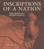 Inscriptions of a Nation: Collected…