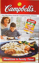 Campbell's Easy Meal Ideas from the Campbell…