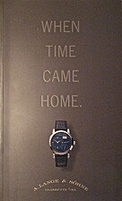 When Time Came Home by (Lange & Soehne)