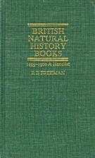 British Natural History Books: 1495-1900 : A…