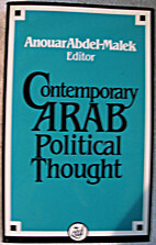 Contemporary Arab Political Thought by…