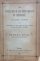 The Influence of the Organ in History by…