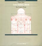 Leon Battista Alberti by Franco Borsi