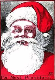 Author photo. Image from <b><i>The Santa Claus Club</i></b> (1907) by Lewis Jesse Bridgman