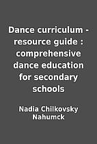 Dance curriculum - resource guide :…