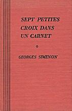 Sept petites croix dans un carnet by Georges…