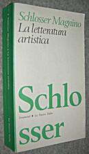 La Letteratura Artistica. Manuale Delle…