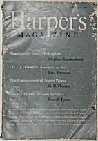Harper's Magazine, January 1948; Vol. 196,…