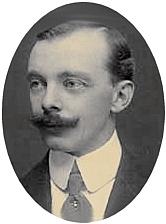 Author photo. circa 1904 photograph, long out of copyright