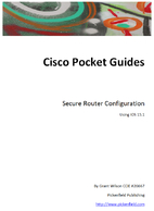 Secure Router Configuration - Cisco IOS 15.1…