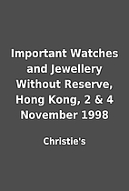 Important Watches and Jewellery Without…