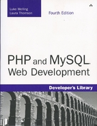 PHP and MySQL Web Development by Luke…