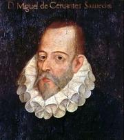 """Author photo. Portrait of Miguel de Cervantes Saavedra by Juan de Jáuregui.<br> Via <a href=""""http://en.wikipedia.org/wiki/Image:Cervates_jauregui.jpg"""">Wikipedia</a>"""