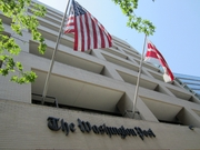 Author photo. The Washington Post headquarters in Washington, D.C. [source: Daniel X. O'Neil via Wikipedia]