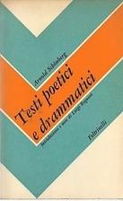 Testi poetici e drammatici editi e inediti…
