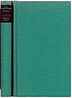 Werke. Bd. 2. Gedichte, Briefe by Johann…