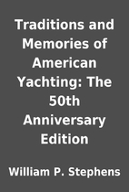 Traditions and Memories of American…