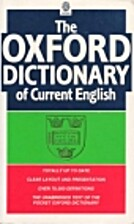 The Oxford Dictionary of Current English…