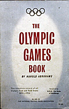The Olympic Games Book by Harold Abrahams