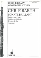 Sonate brillant for oboe and piano by Chr.…