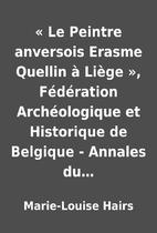 « Le Peintre anversois Erasme Quellin à…