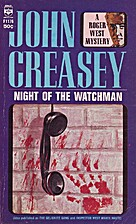 Inspector West Makes Haste by John Creasey