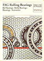 FAG Rolling Bearings catalogue WL41 520/2EA